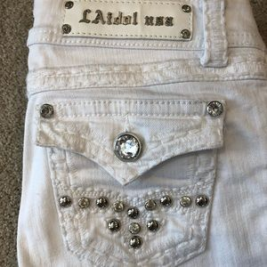 LA Idol women's cropped jeans